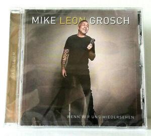 Mike Leon Grosch CD Wenn wir uns wiedersehen Das Schlager Album 2021 Wunderschön