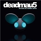 Deadmau5 : For Lack of a Better Name CD (2009)NEW&SEALED  DIGIPAK