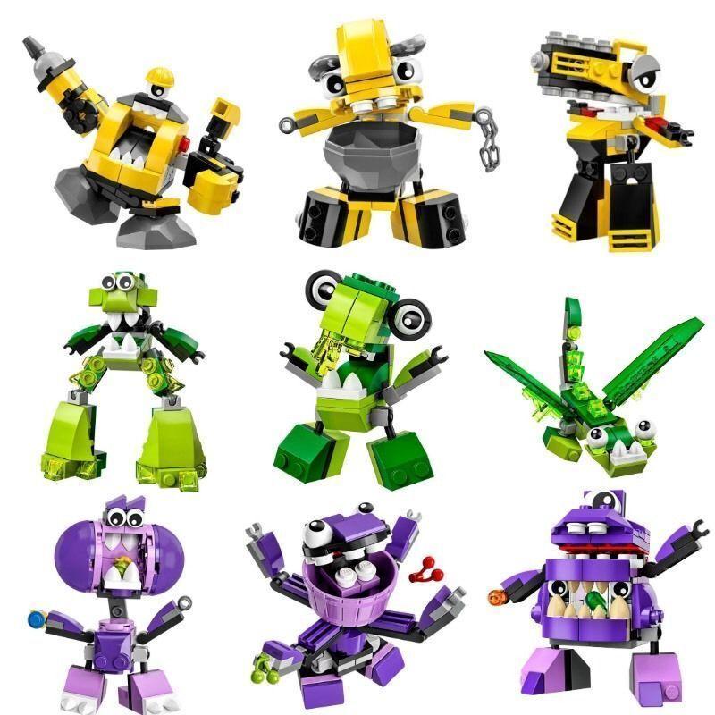 NEW LEGO Mixels Series Series Series 6 - Complete Set Of 9 13edc8