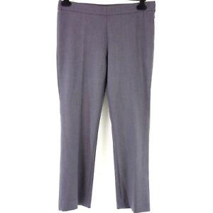 neue niedrigere Preise einzigartiger Stil neuer Stil Details about Raffaello Rossi by Shera Women Pants Macy Size 42 Grey  Straight Soft Np 119 New