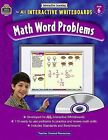 Interactive Learning: Math Word Problems Grd 6 by Teacher Created Resources Staff (2011, Paperback, New Edition)