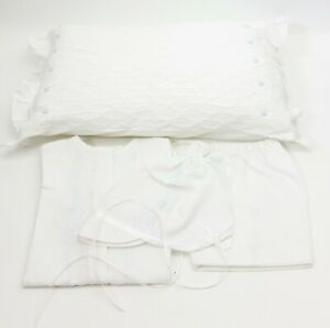 Rendezvous-Linens-And-Lace-Christening-Gown-Bonnet-Bloomers-And-Pillow