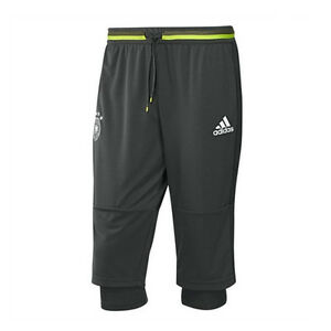 adidas-Men-039-s-Germany-3-4-Training-Pants-Dark-Grey-Heather-Base-Green-AC6511