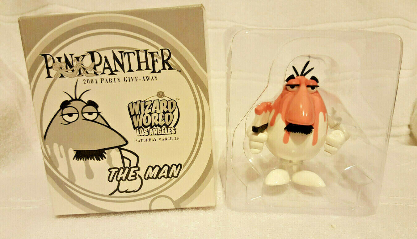 Palisades Pink Panther Wizard LA Exclusive The Man Pink Paint MIP