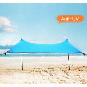 Ombrelloni Da Spiaggia Vendita.Dettagli Su Lovebay Tenda Da Spiaggia Ombrellone Spiaggia Tendalino Da Sole Portatile All