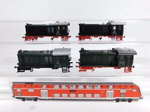 CS673-0,5# 4x Märklin H0 Gehäuse, leichte Mängel, für Lok: 3139 ÖBB + 3146 DB
