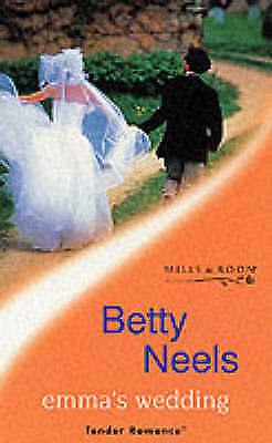"""AS NEW"" Neels, Betty, Emma's Wedding (Tender Romance S.), Paperback Book"