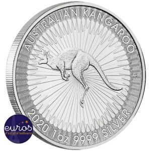 AUSTRALIE-2020-Kangourou-1-Argent-1oz-once-Bullion-Perth-Mint
