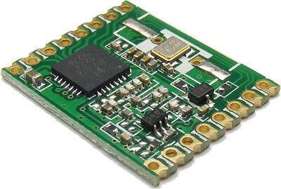 RFM69HW 915Mhz +20dBm HopeRF Wireless Transceiver (RFM69HW-915S2)