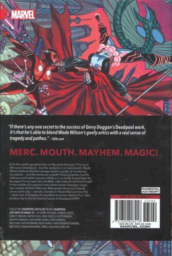 DEADPOOL WORLDS GREATEST HC VOL 2 REPS #8-13 /& LAT DAYS OF MAGIC #1 MINT//SEALED