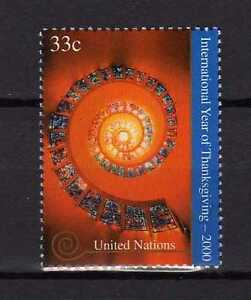 13395-UNO-ONU-US-2000-MNH-Nuovi-Thanking-year-1v