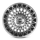 4 X BBS Alloy Wheels Rim Sports Mags 17X7.5 4X100 ET35 FLAT BLACK MACHINE FACE