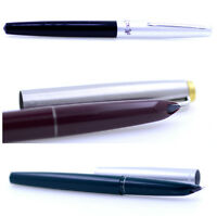 Brand new hero 330 fountain pen, 1.0mm bent tip, multiple colours to choose