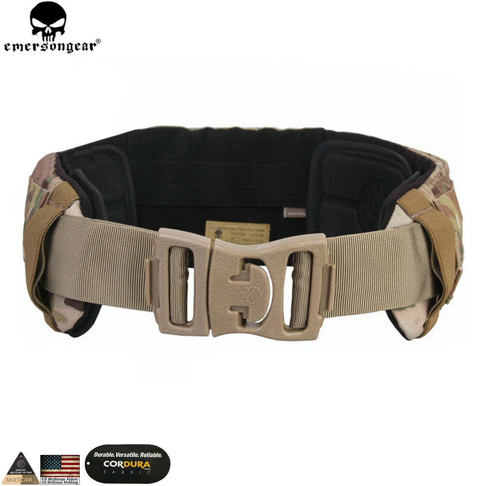 EMERSON Tactical Belt Airsoft AVS Low  Profile Duty Belt Molle Waist Hunting Gear  shop online today