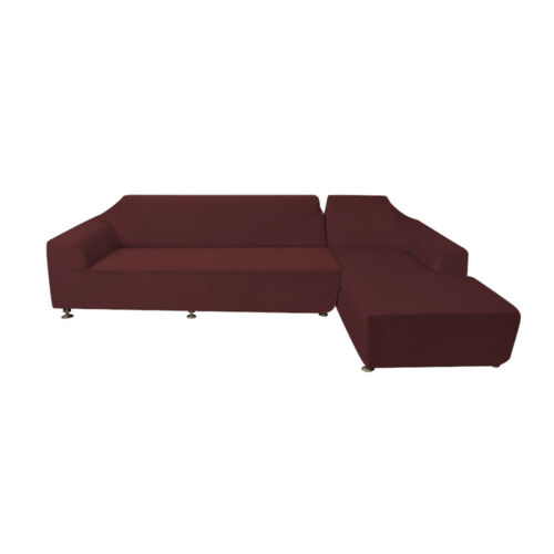 2 3 Seater L shaped Slipcover Recline Sofa Couch Covers Washable Furniture Red
