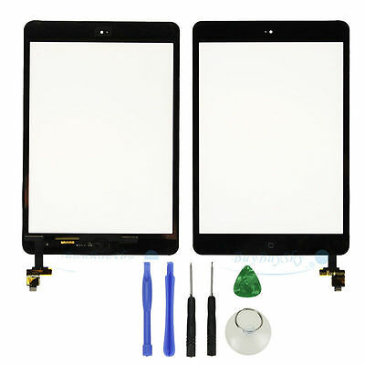 IC Connector Home Button Assembly Black iPad mini 1/& 2 Touch Digitizer Screen