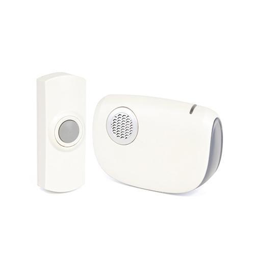 Lloytron B7010 Battery Operated Wireless Weatherproof Doorbell With Strobe Light