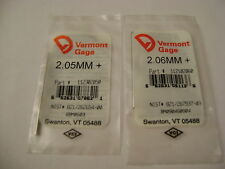 Vermont Gage Pins 1 Each 205206 Metric Plus