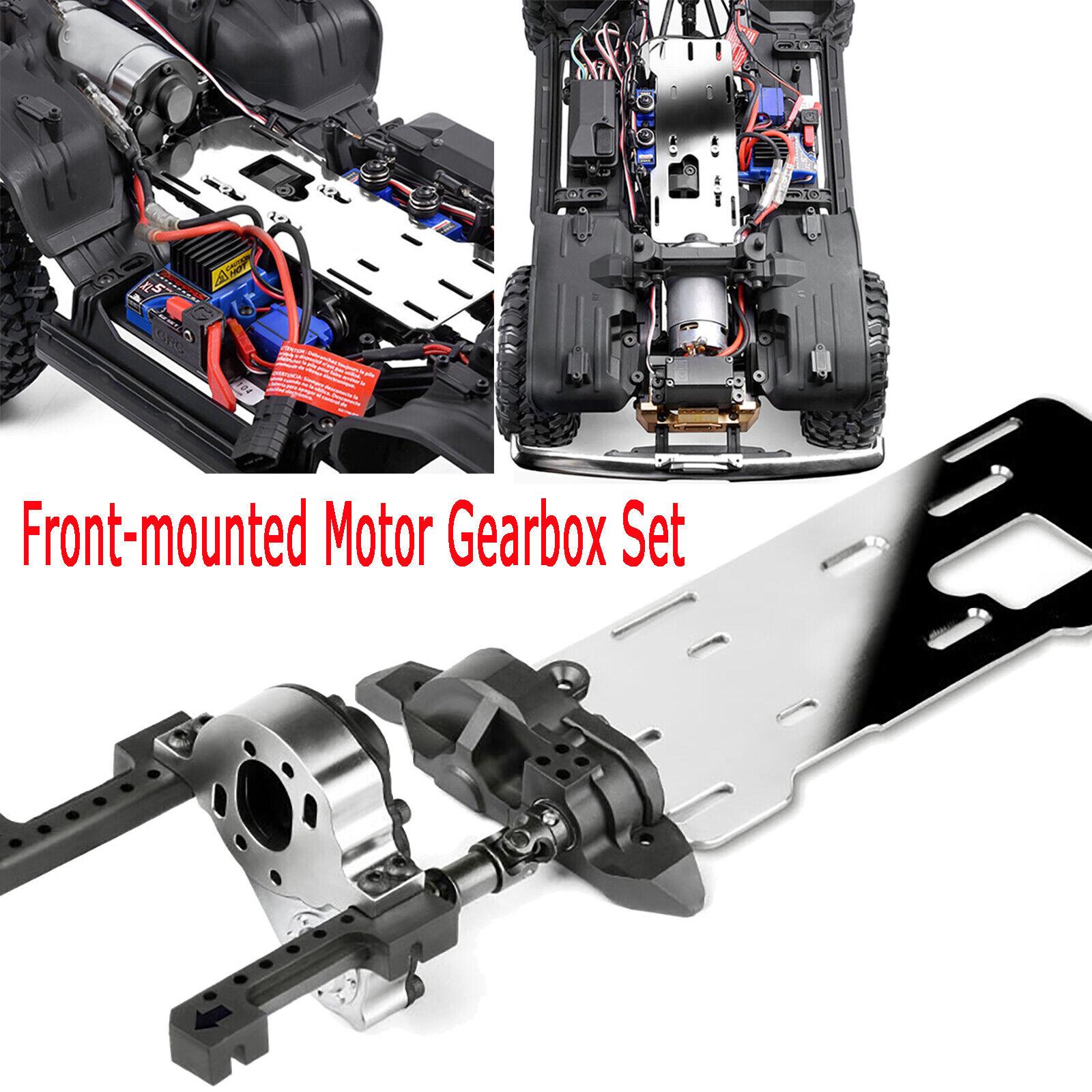 GRC TRX4 G2 montaje FRONTAL MOTOR Motor Caja De Cambios Kit Para TRAXXAS TRX-4 RC GAX0033S