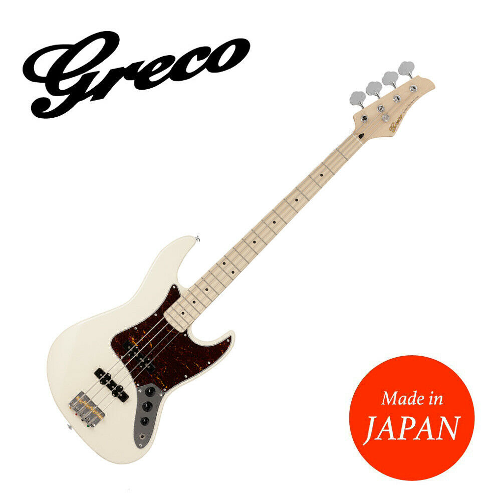 GRECO WSB-STD Aged Weiß AWH Maple Electric Bass guitar Made in Japan