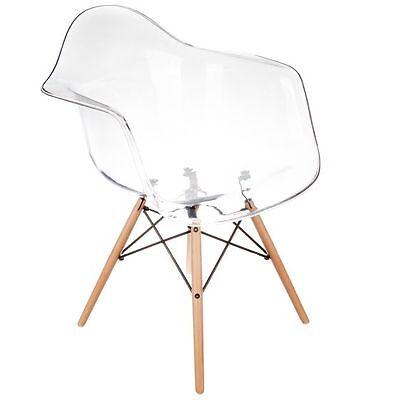 Replica Eames Eiffel DAW Clear Armchair