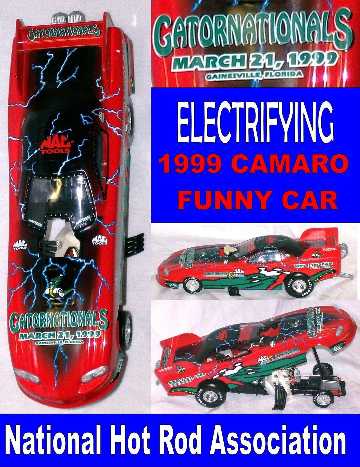 diseño único Diecast Diecast Diecast Camaro Coche Diverdeido Asociación Nacional de Hot Rod Coleccionistas Escala 1 24 1999 Gator nacionales con caja  disfrutando de sus compras