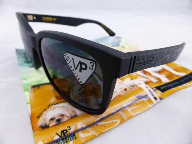 2c1d71316fa Von Zipper HOWL Sunglasses Freestone Black - Grey Polarised VP3 Lenses