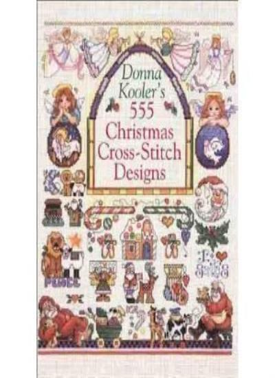 Donna Kooler's 555 Christmas Cross-stitch Designs,Donna Kooler