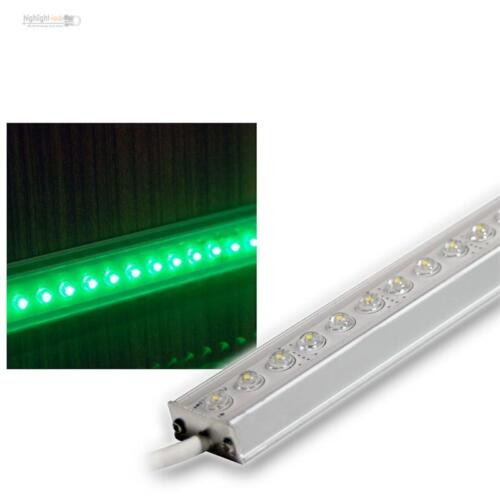 LED ALU Lichtleiste 50cm GRÜN IP65 12V LEDs 39,98€//m