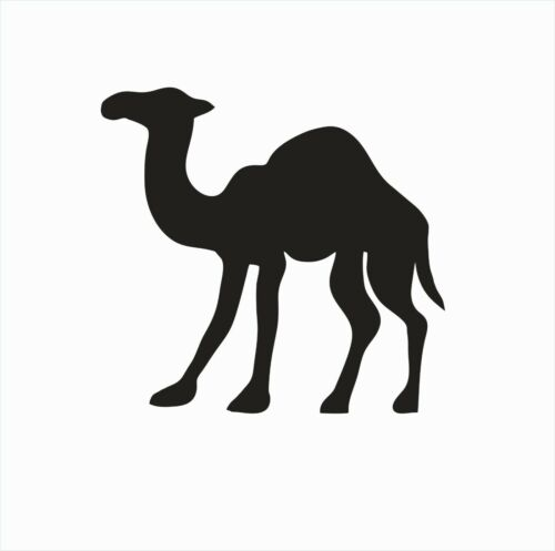 Camel Animal Vinyl Die Cut Car Decal Sticker-FREE SHIPPING