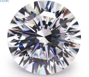 15mm-18-98ct-Unheated-AAAAA-Round-White-Zircon-Diamonds-Cut-VVS-Loose-Gemstone