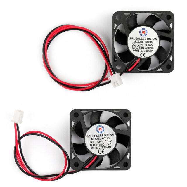 DC Brushless Cooling PC Computer Fan 12V 24V 4010s 40x40x10mm 0.1A 0.15A 2Pin TZ