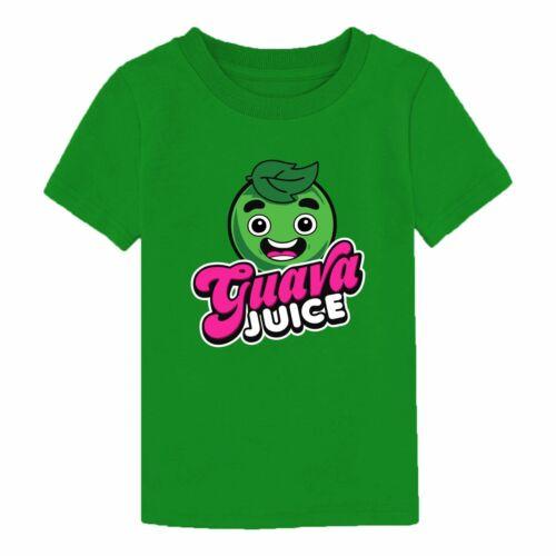 GUAVA JUICE Youtuber UNISEX KIDS BOYS GIRLS TSHIRT T SHIRT
