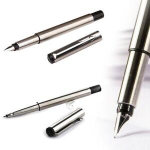 Metal-Parker-Vector-Ballpoint-Pen-Rollerball-Pen-Fountain-Pen-0-5mm-Nib