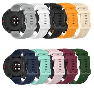 Fuer-Polar-Vantage-M-Huawei-GT2-46MM-Honor-Magic-Uhr-Silikon-Armband-Uhrenarmband