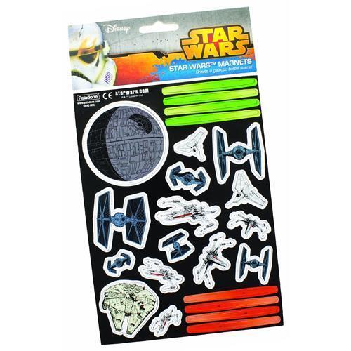 New /& Official Lucasfilm Ltd Star Wars Galactic Battle Scene Magnet Set