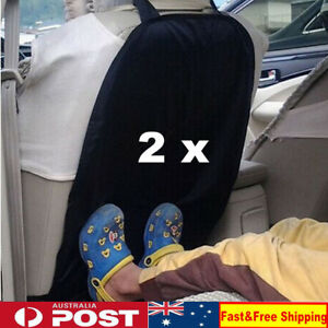 2 x Car Auto Care Seat Back Protector Cover For Children Kick Mat Mud Clean OZ