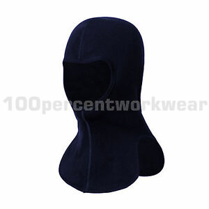 Phoenix-Flame-Retardant-Anti-Static-Navy-Balaclava-Head-Protection-Safety-FR-New