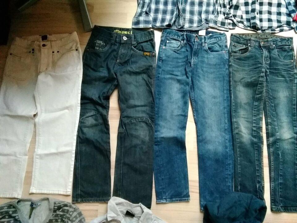 Blandet tøj, Bukser bluser T-shirt, Flere