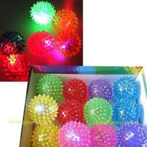 Flashing-Light-Up-Spikey-High-Bouncing-Balls-Novelty-Sensory-Hedgehog-Ball-RDR