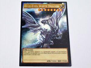 blue eyes white dragon Secret Rare Orica Gold