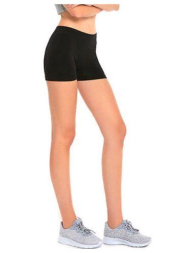 Women/'s Legging Stretch  Sports Biker Junior Under Skirt Active GYM Yoga Shorts