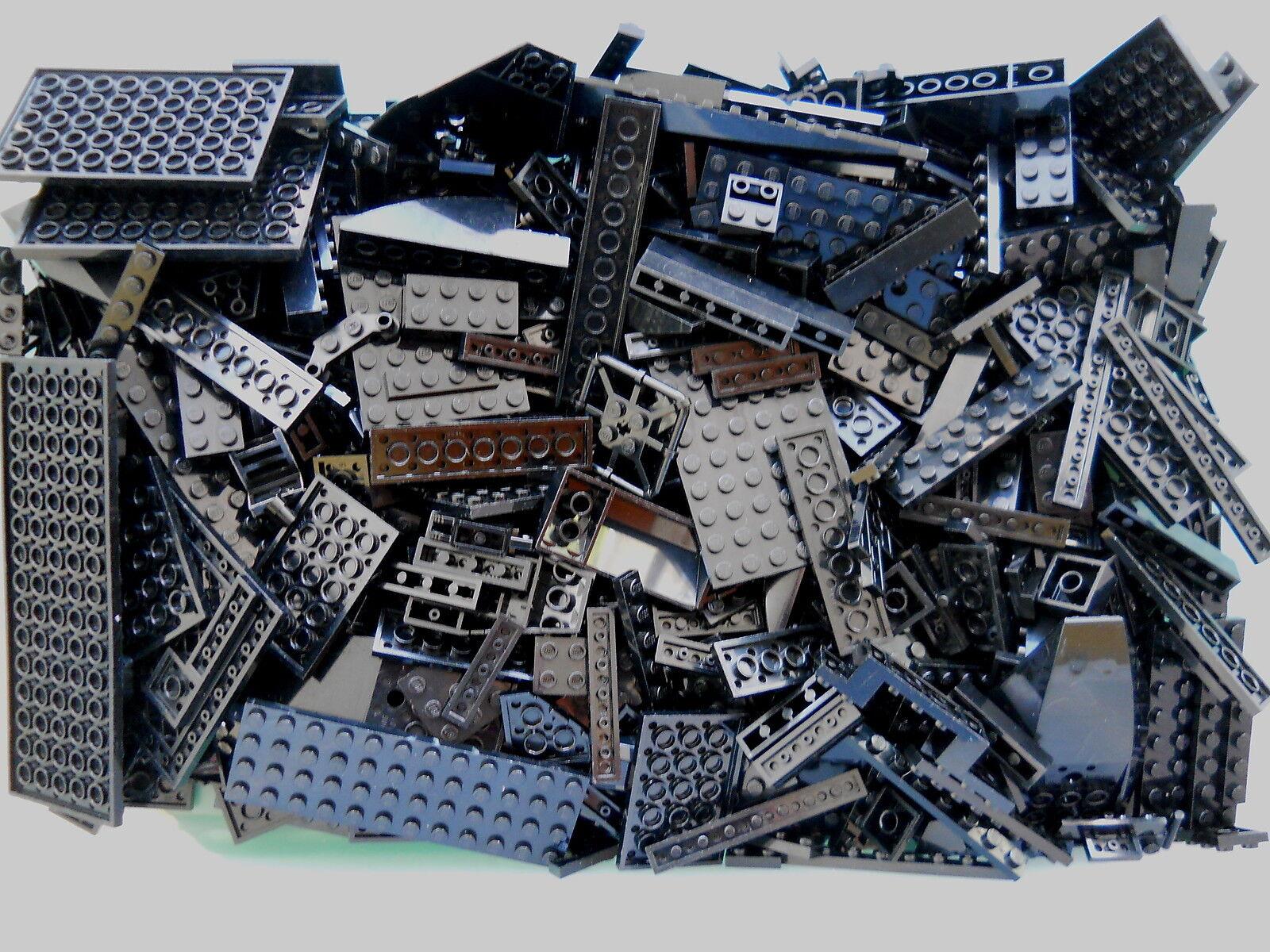 LEGO DARK  GRAY 1//4 lb Bulk Lot of Bricks Plates Specialty Parts Pieces