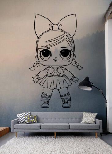 Стены виниловая наклейка переводная картинка лол сюрприз куклы на заказ viny наклейка для детей ge691