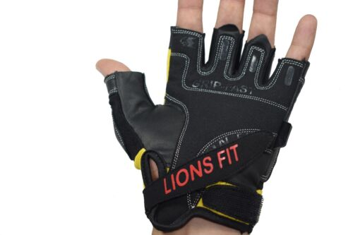 LIONS FIT 2018 CYCLING GLOVES TRAINING FITNESS EXERCISE GLOVE