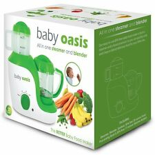 Smart Planet Baby Oasis Baby Food Maker All In One Steamer and Blender ~New~
