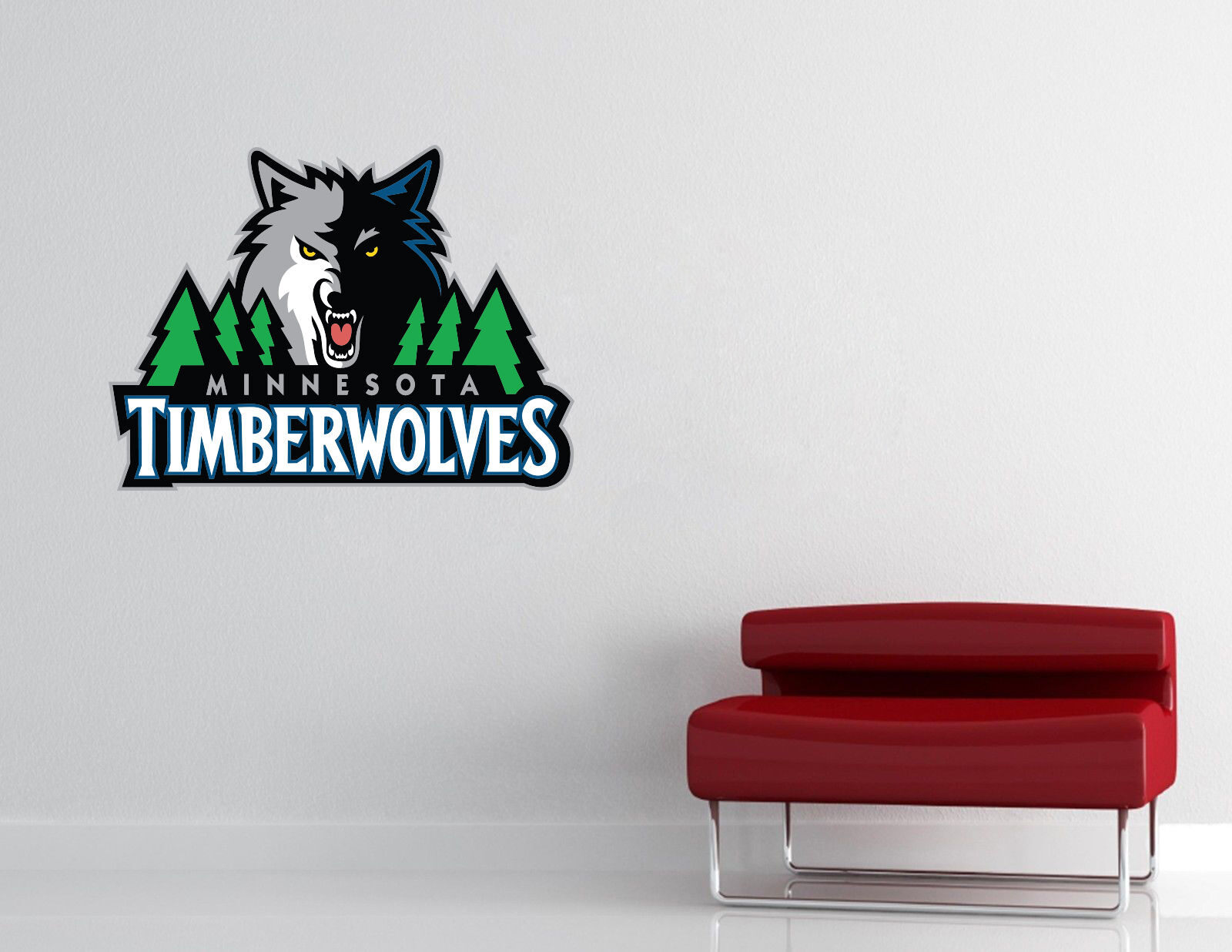 Minnesota Timberwolves NBA Wall Decal Vinyl Sticker Decor EXTRA LARGE L237