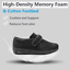 thumbnail 4 - Orthoshoes Womens Edema Shoes Mesh Breathable Lightweight Walking Sneakers Air C