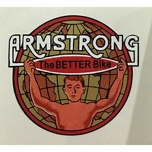 ARMSTRONG head//seat crest.