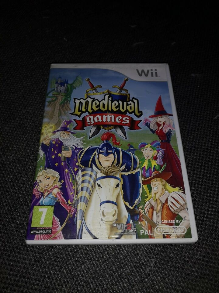 Medieval games, Nintendo Wii, adventure